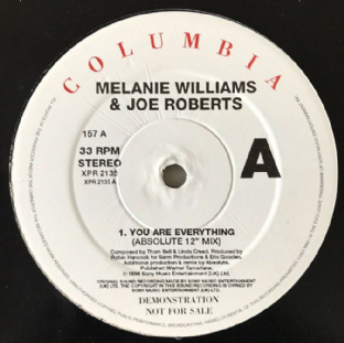 "Melanie Williams & Joe Roberts - You Are Everything (12"") (Promo) (G++/G++)"